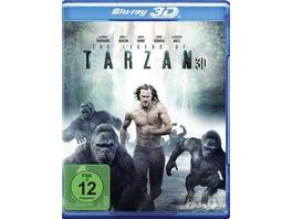 Legend of Tarzan Blu ray