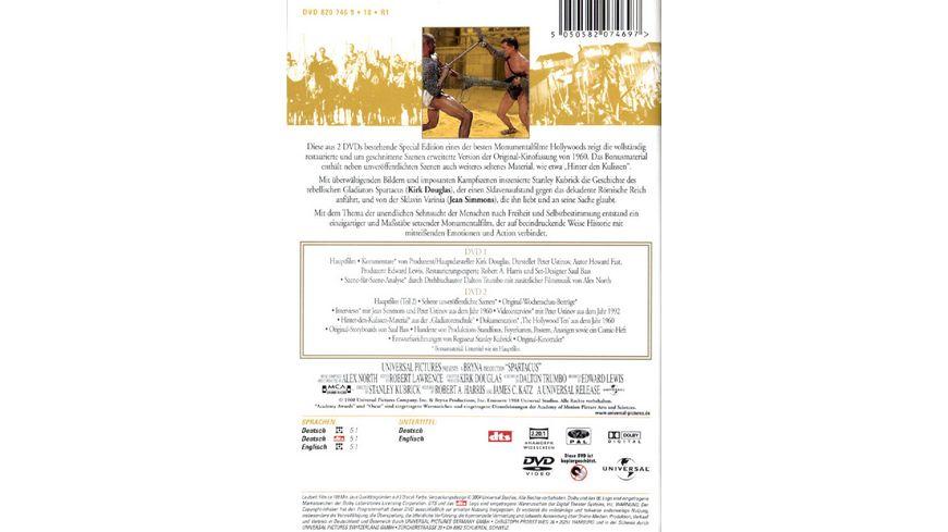 Spartacus SE 2 DVDs