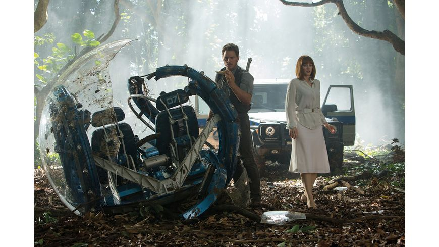 Jurassic World Blu ray