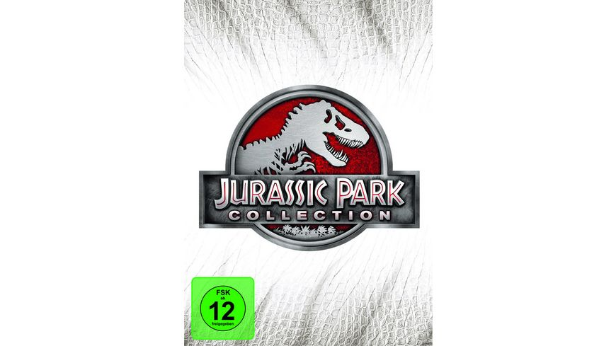 Jurassic Park Collection 4 DVDs