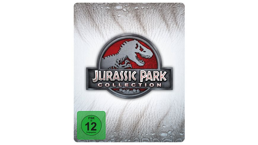 Jurassic Park Collection - Steelbook  [LE] [4 BRs]