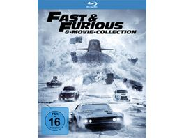 Fast Furious 8 Movie Collection 8 BRs
