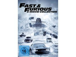 Fast Furious 8 Movie Collection 8 DVDs