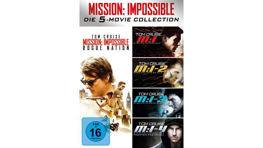 Mission Impossible 5 Movie Set 5 DVDs