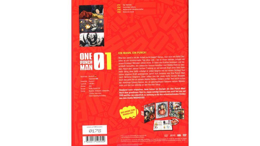 One Punch Man Vol 1 Sammelschuber LE