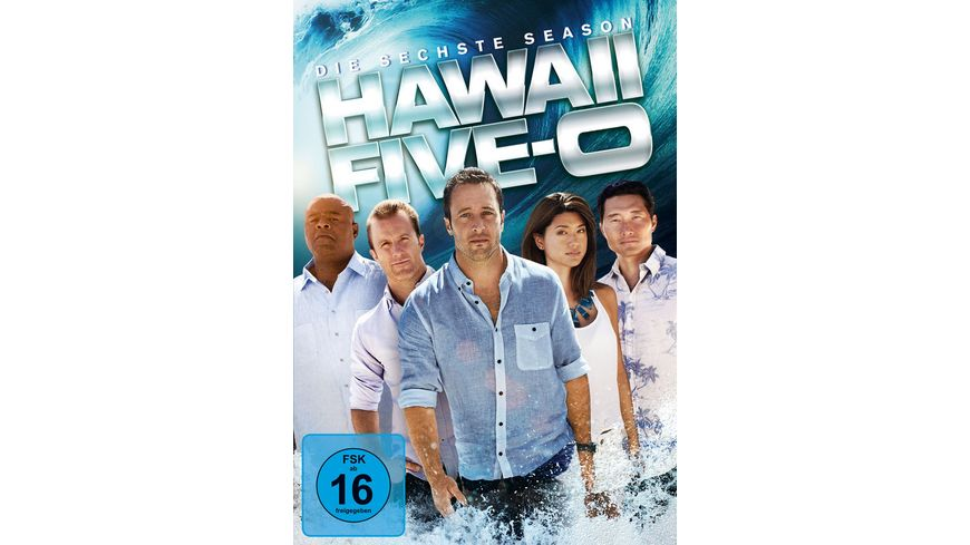 Hawaii Five 0 Season 6 6 DVDs