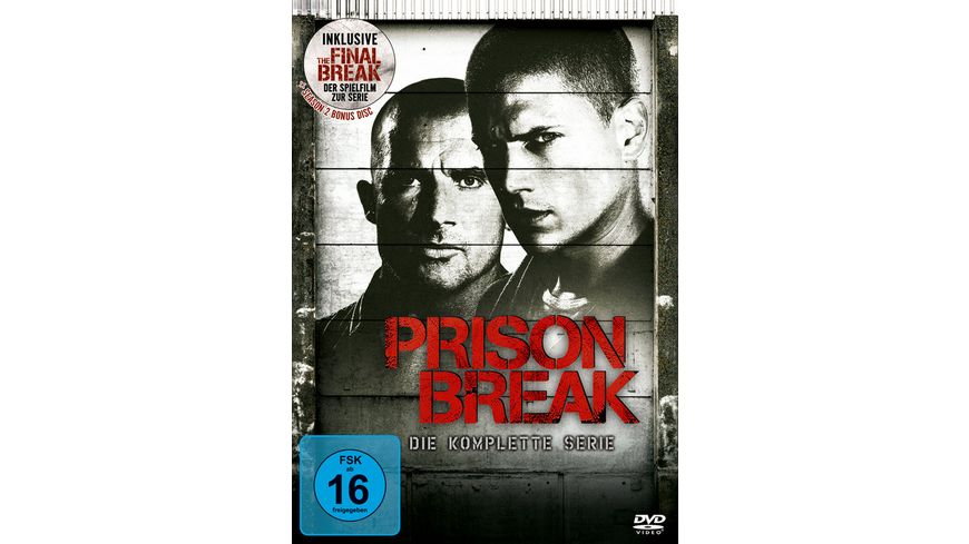 Prison Break Complete Box 24 DVDs