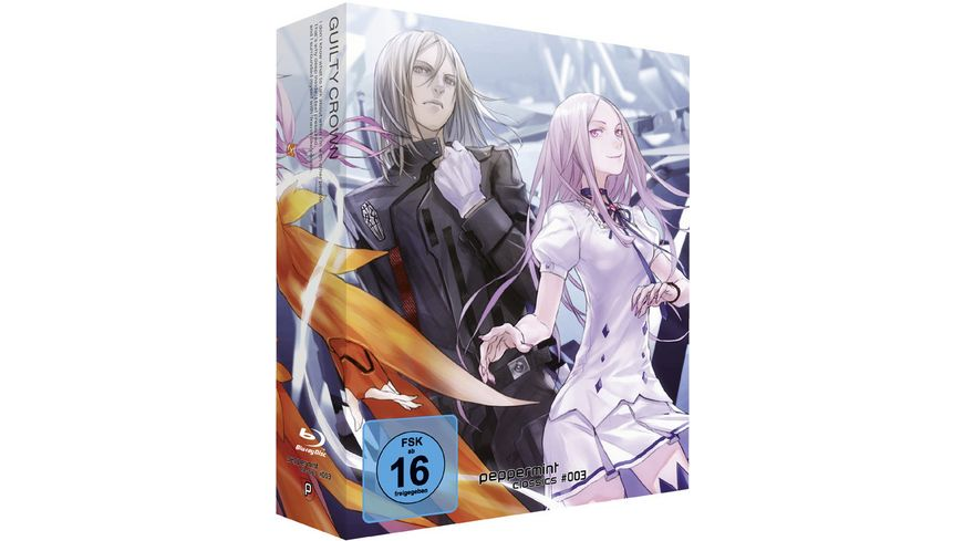 Guilty Crown Complete Box Eps 01 22 peppermint classic 003 inkl Lost Christmas 4 BRs