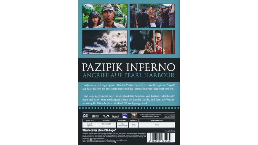 Pazifik Inferno Angriff auf Pearl Harbour