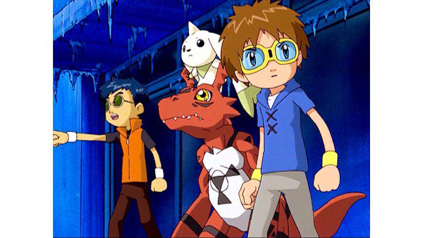 Digimon Tamers Volume 1 Episode 01 17 im Sammelschuber LE 3 DVDs