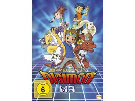Digimon Tamers Volume 1 Episode 01 17 im Sammelschuber LE 3 DVDs
