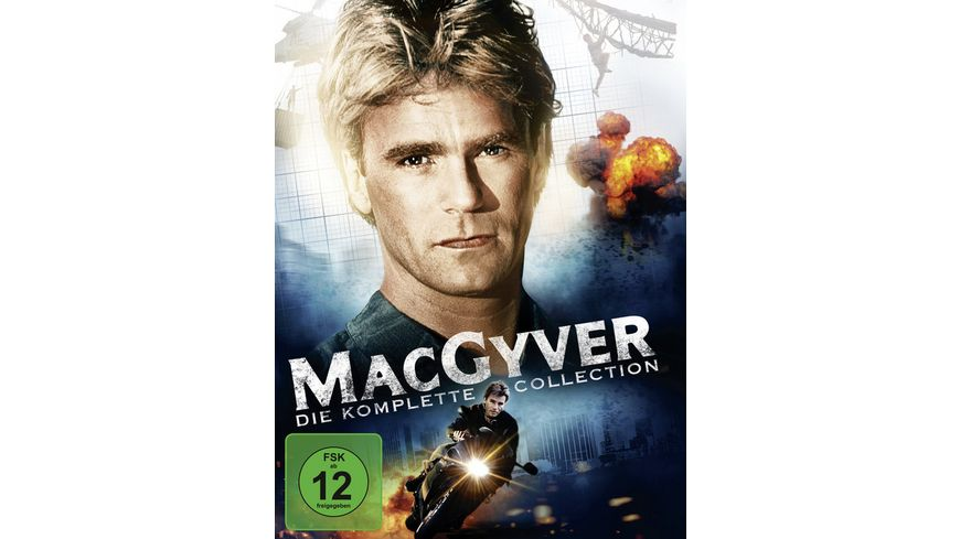MacGyver Die komplette Collection 38 DVDs