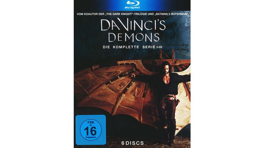 Da Vinci s Demons Die komplette Serie 6 BRs