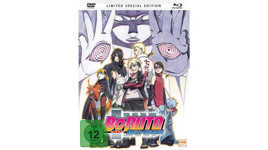 Boruto Naruto The Movie Mediabook DVD SLE