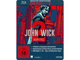 John Wick Kapitel 2 Blu ray im limitierten Steelbook