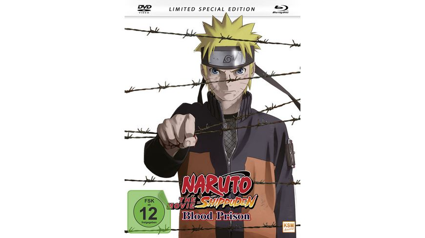 Naruto Shippuden The Movie 5 Blood Prison Mediabook DVD SLE