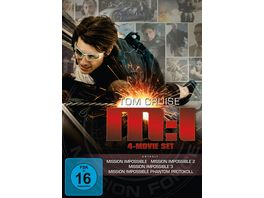 Mission Impossible 4 Movie Set 1 4 4 DVDs
