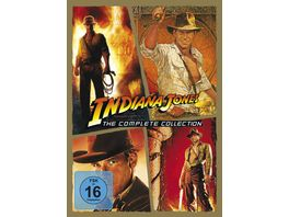 Indiana Jones The Complete Collection 5 DVDs