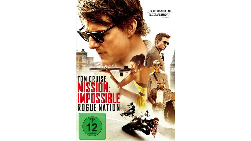 Mission Impossible 5 Rogue Nation
