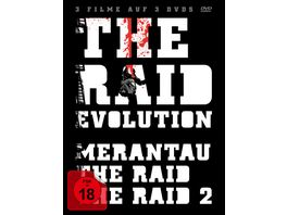 The Raid Evolution 3 DVDs