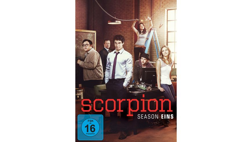 Scorpion Staffel 1 6 DVDs
