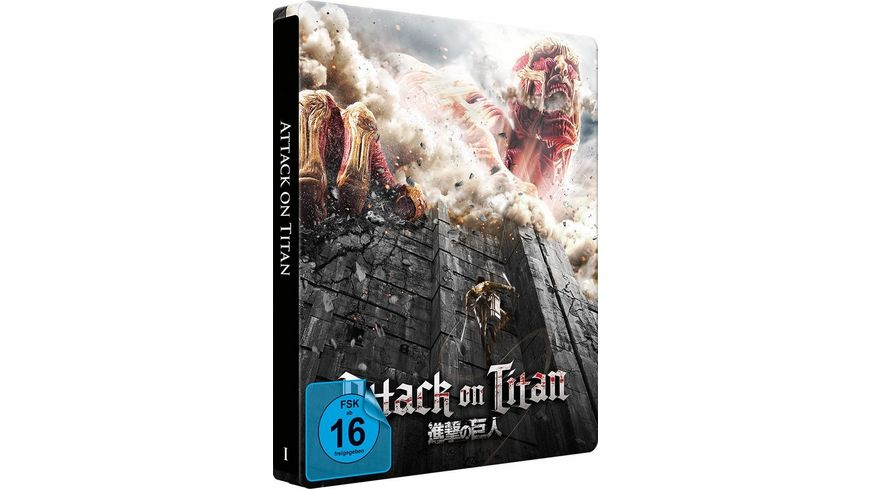 Attack on Titan Film 1 Steelbook LE