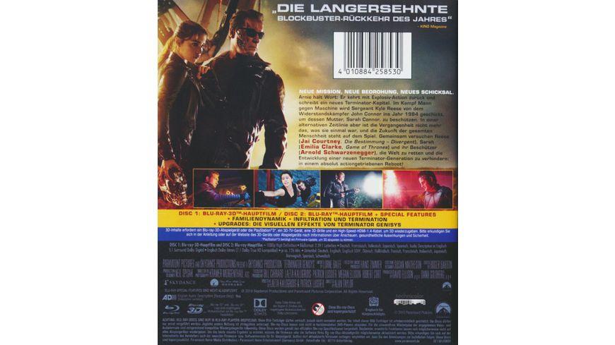 Terminator 5 Genisys Blu ray