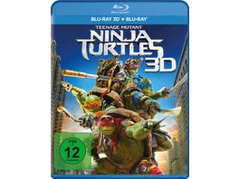 Teenage Mutant Ninja Turtles 2 BRs inkl 2D Version