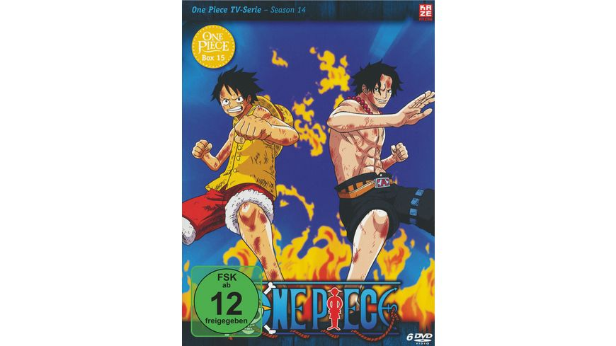 One Piece TV Serie Box Vol 15 6 DVDs