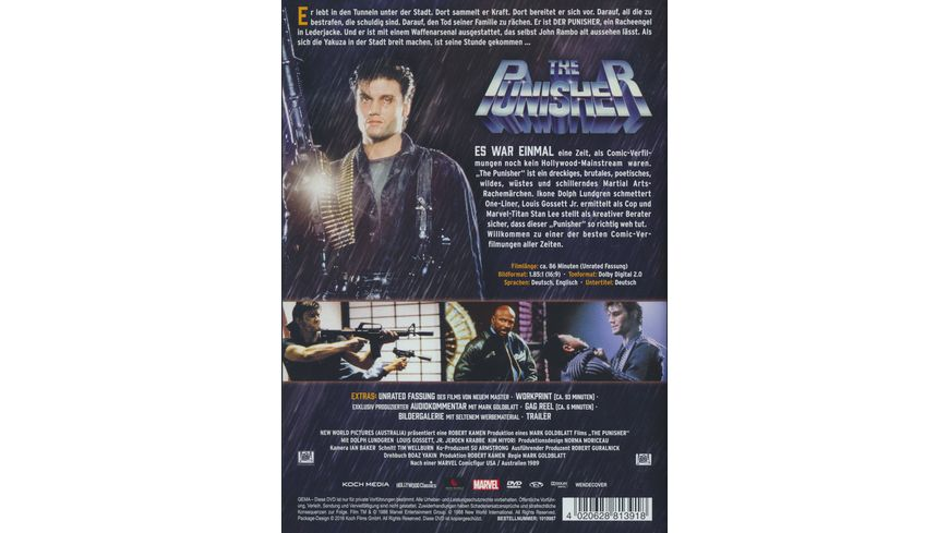 The Punisher Uncut 2 DVDs SE