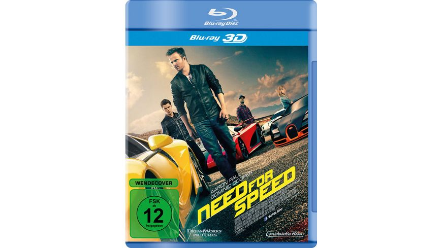 Need for Speed inkl 2D Version