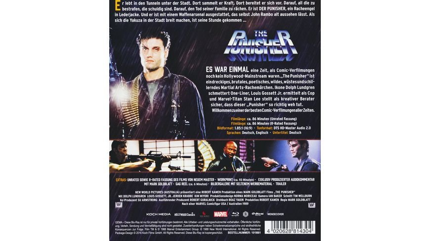 The Punisher Uncut DVD