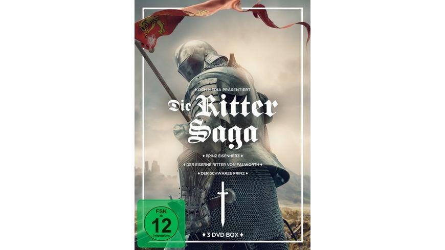 Ritter Box Prinz Eisenherz Der schwarze Prinz Der eiserne Ritter von Falworth 3 DVDs