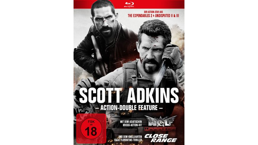 Scott Adkins Action Double Feature 2 BRs