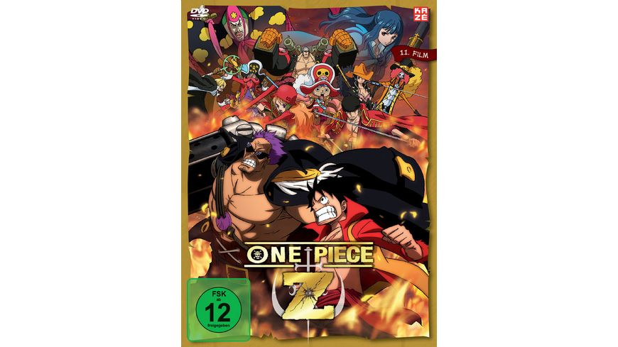 One Piece 11 Film One Piece Z inkl Booklet