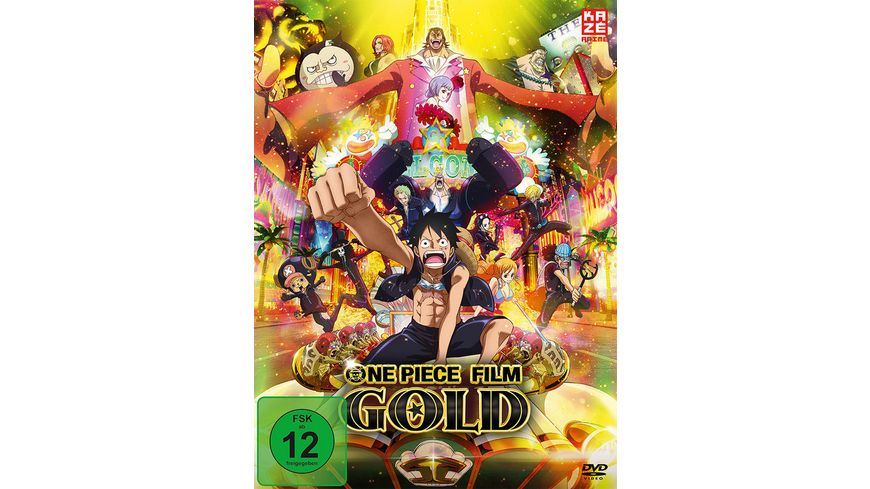 One Piece 12 Film Gold