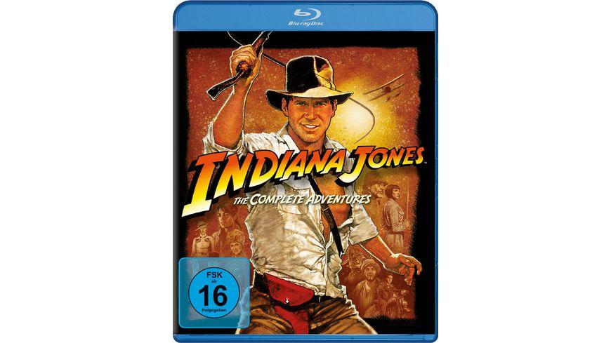 Indiana Jones The Complete Adventures 4 BRs