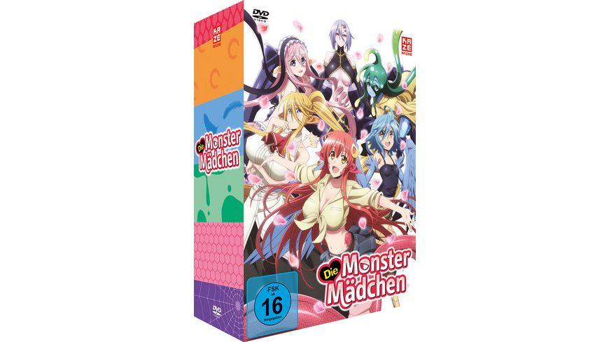 Die Monster Maedchen Vol 1 Sammelschuber LE