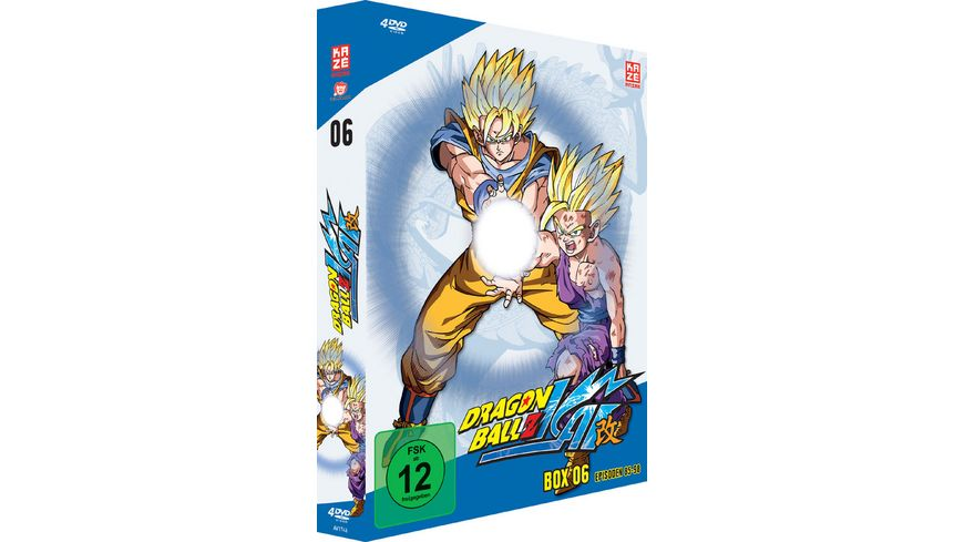 Dragonball Z Kai Box 6 4 DVDs