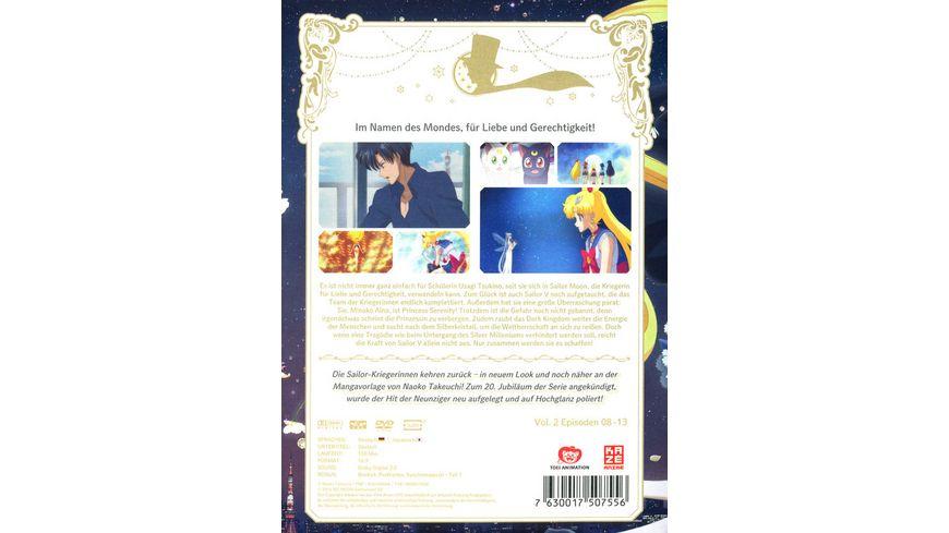 Sailor Moon Crystal Vol 2 2 DVDs