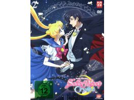Sailor Moon Crystal Vol 2 2 DVDs