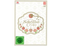 Sailor Moon Crystal Vol 3 2 DVDs LE Sammelschuber