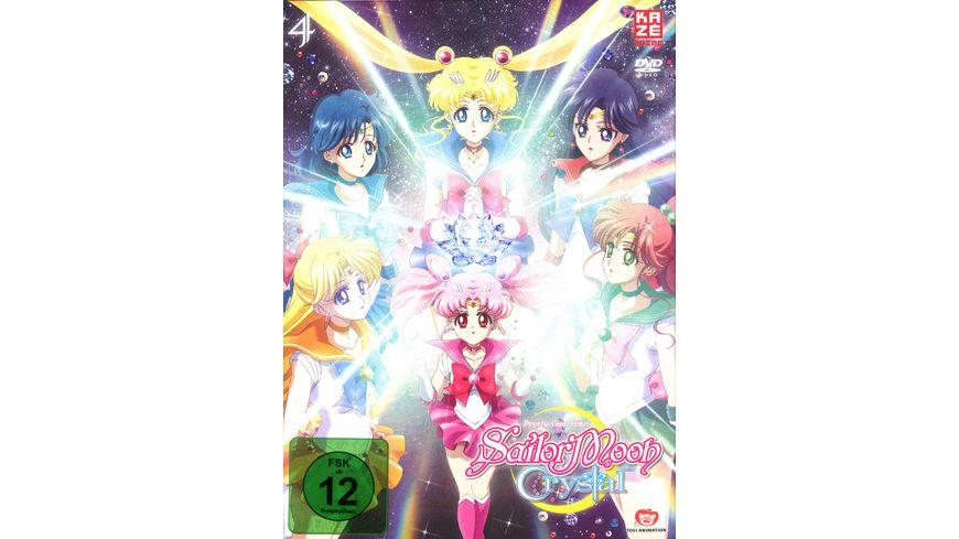 Sailor Moon Crystal DVD 4 2 DVDs