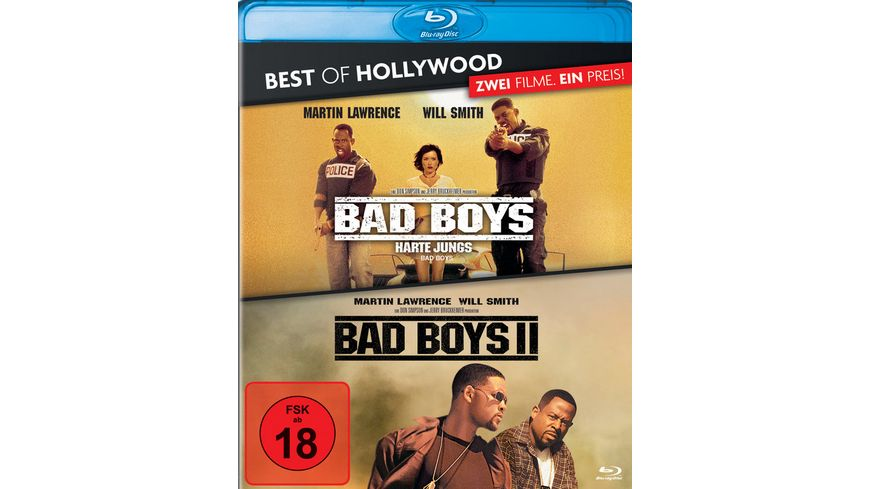 Bad Boys Harte Jungs Bad Boys 2 Best of Hollywood 2 Movie Collector s Pack 2 BRs