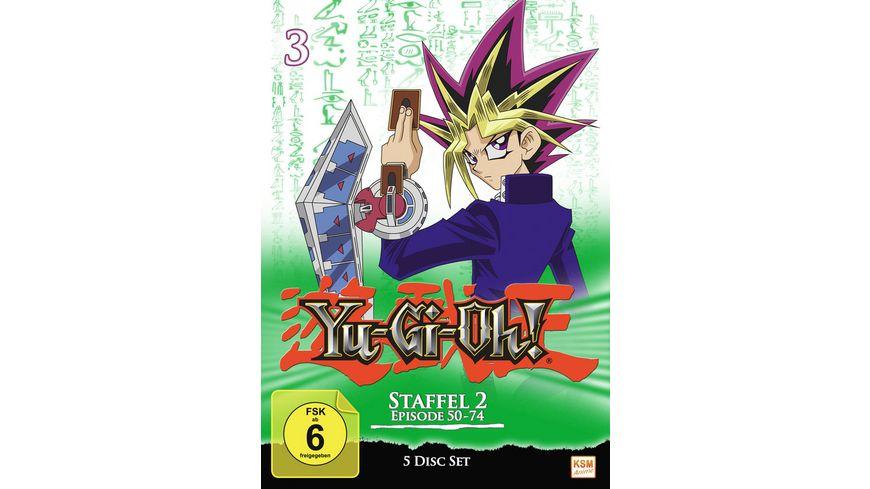 Yu Gi Oh Staffel 2 1 Episode 50 74 5 DVDs