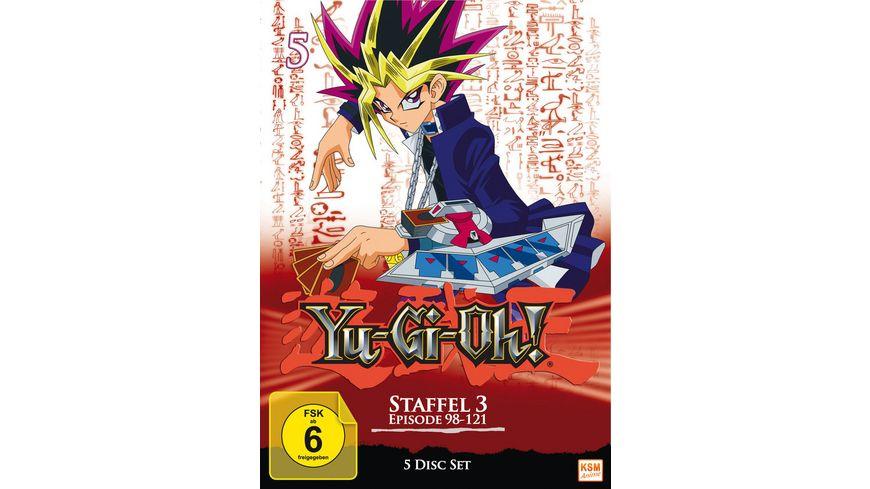 Yu Gi Oh Staffel 3 1 Episode 98 121 5 DVDs