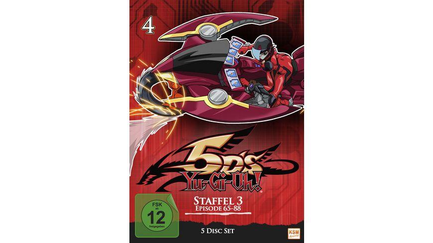Yu Gi Oh 5D s Staffel 3 1 Episode 65 88 5 DVDs