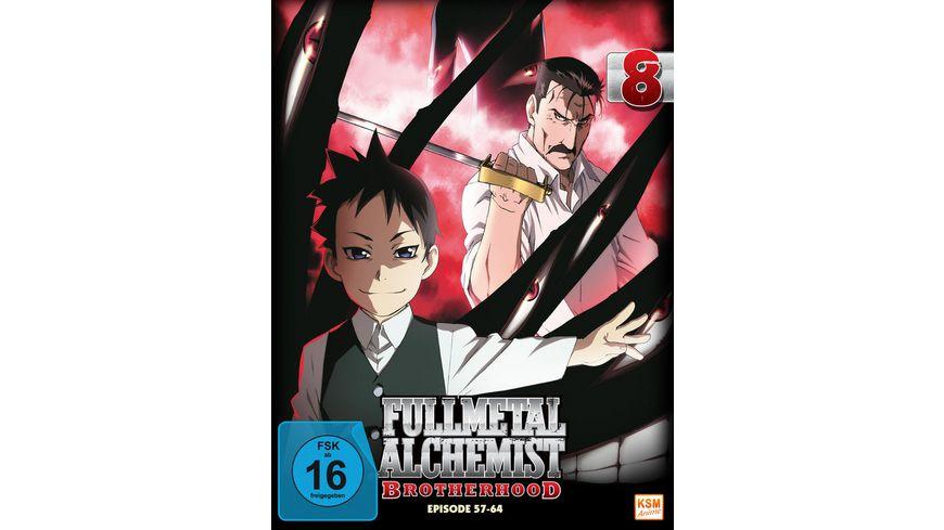 Fullmetal Alchemist Brotherhood Vol 8 Episode 57 64 LE 2 DVDs