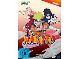 Naruto Die komplette Staffel 1 Uncut 3 DVDs