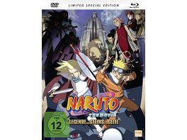 Naruto the Movie 2 Die Legende des Steins von Gelel LE SE Mediabook